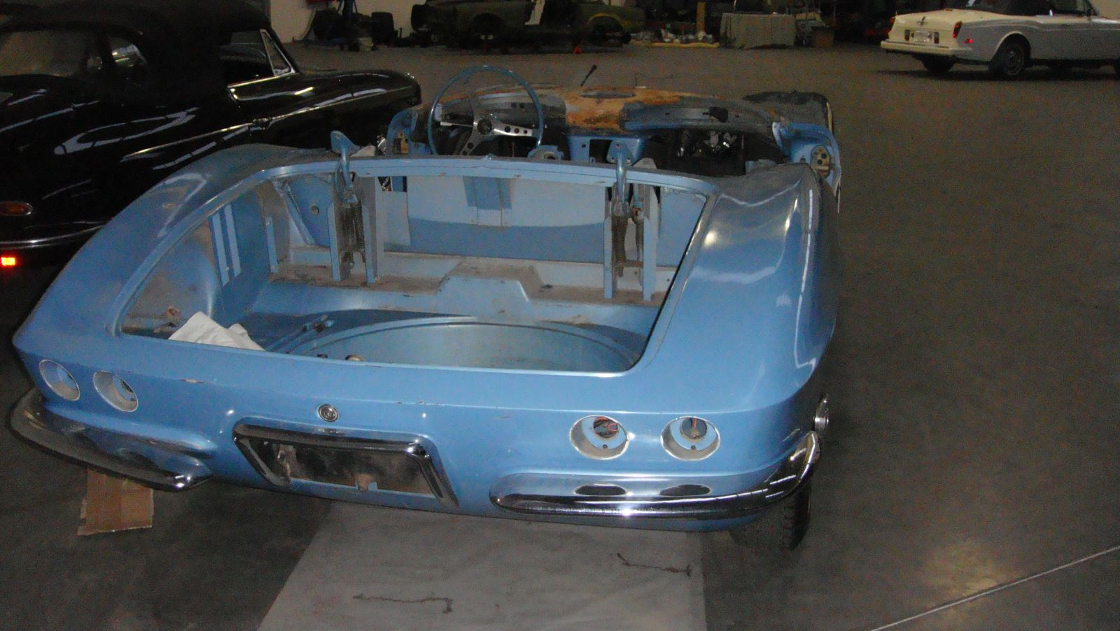 Chevrolet Corvette C1 Roadster 1961 Restoration Chevy Stingray Another View