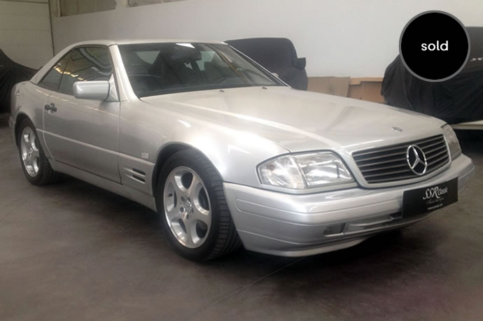 1997 Mercedes Benz SL 320