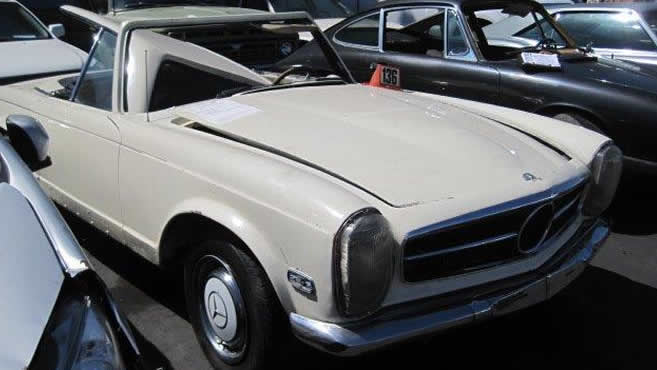 1970 Mercedes Benz 280 SL